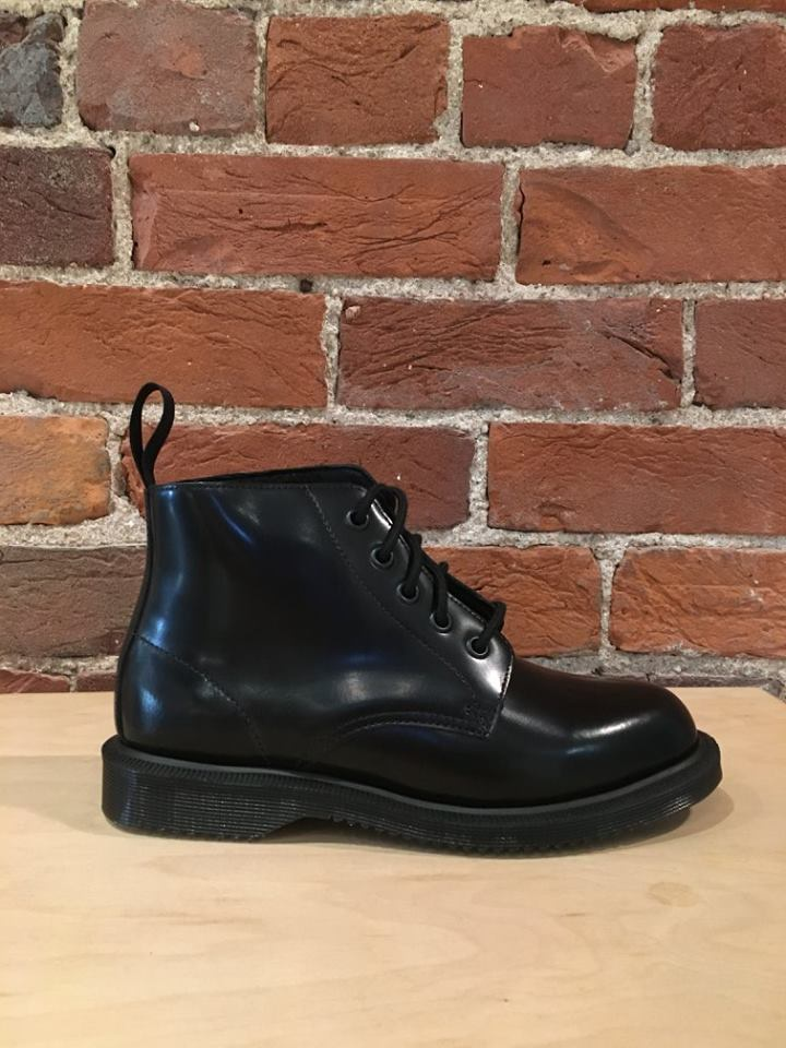 DR. MARTENS - EMMELINE IN BLACK POLISHED SMOOTH