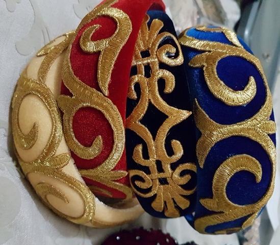 Velvet Scroll Headband