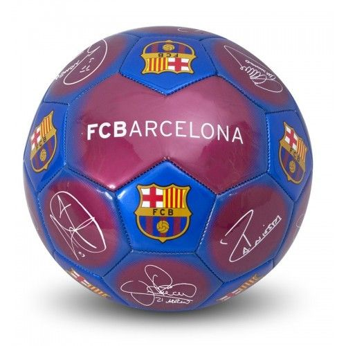 F.C.BARCELONA FOOTBALL SIGNATURE
