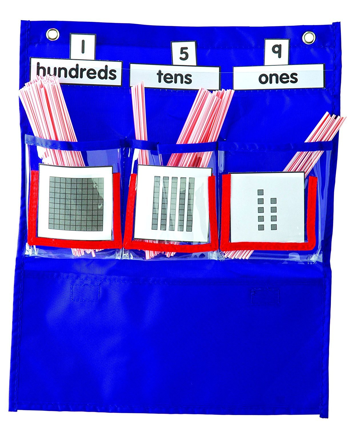 CD 158026 DELUXE COUNTING CADDY POCKET CHART