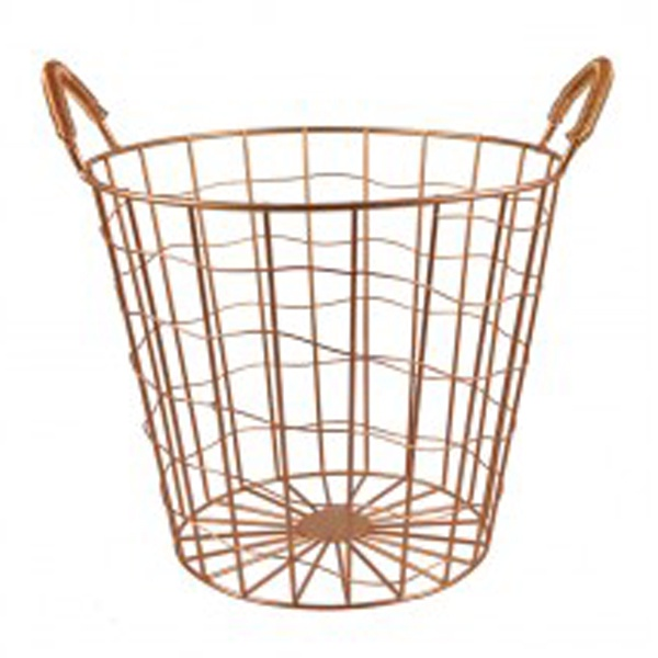 Wire Waste Basket poppy & penelope: unique homeware and gift store