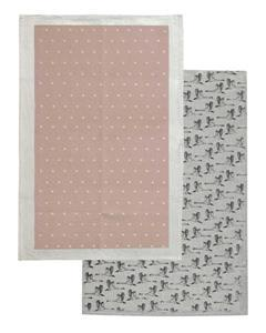 Raine & Humble Tea Towel Champagne (Set 2)