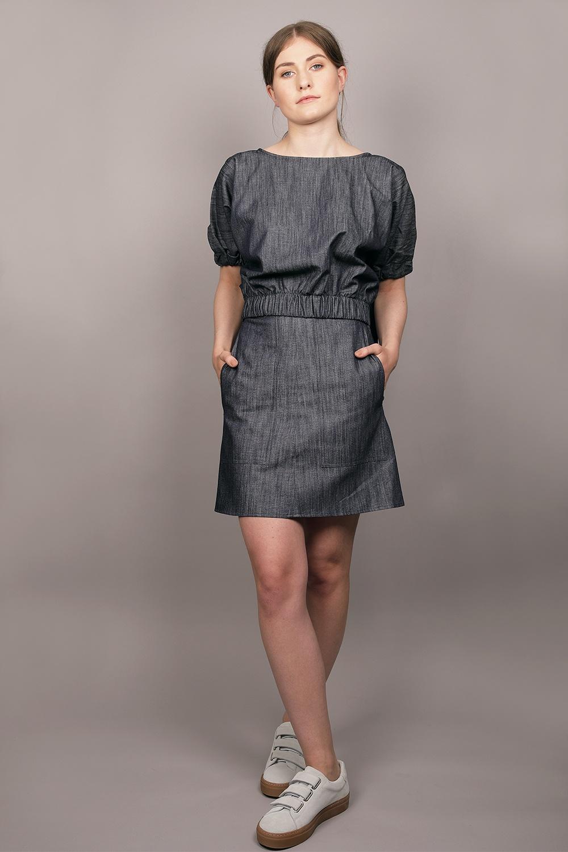 Cathrine Hammel - Denim Skirt Image