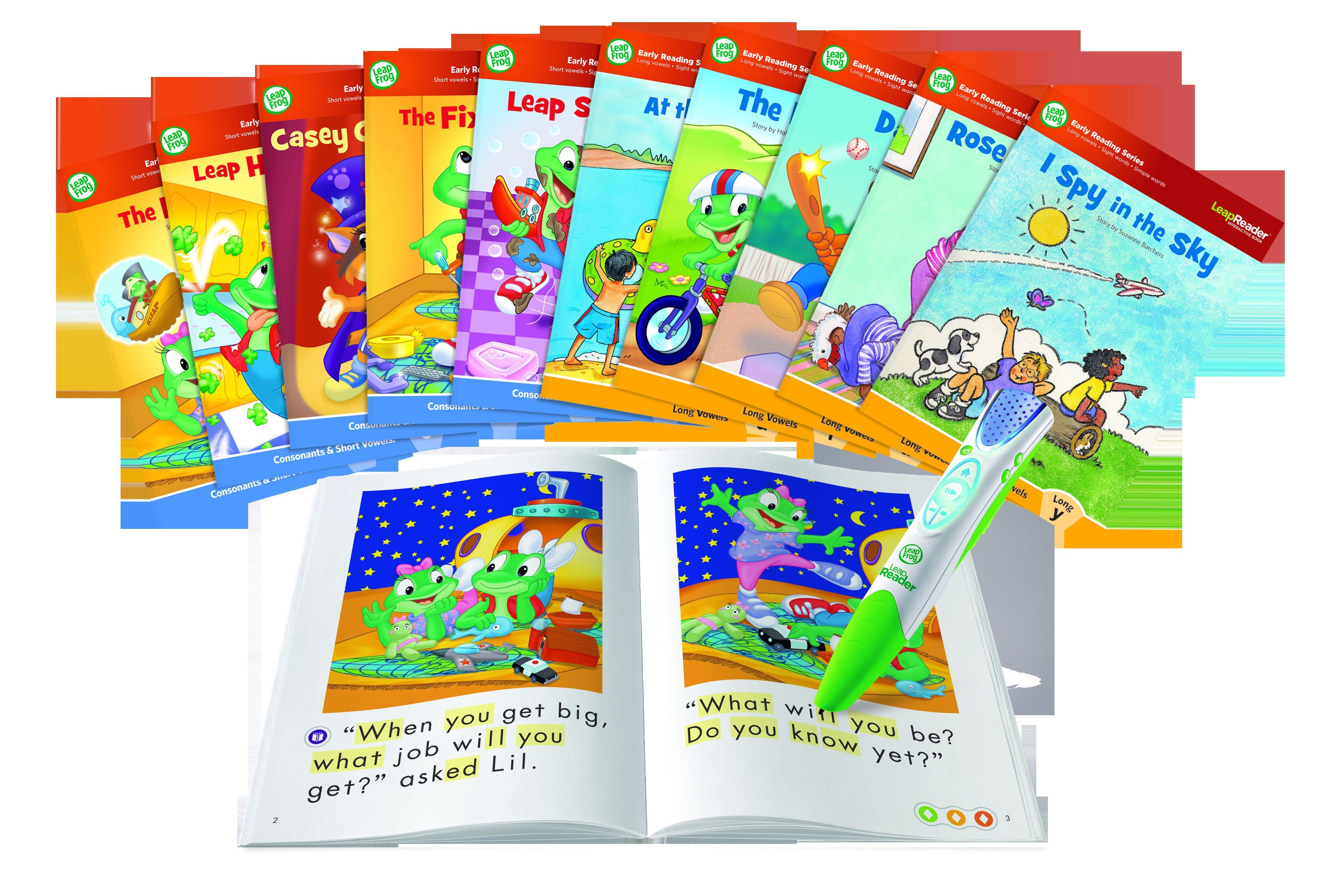 LEAPFROG READER ULTIMATE LEARN-TO-READ MEGA PACK