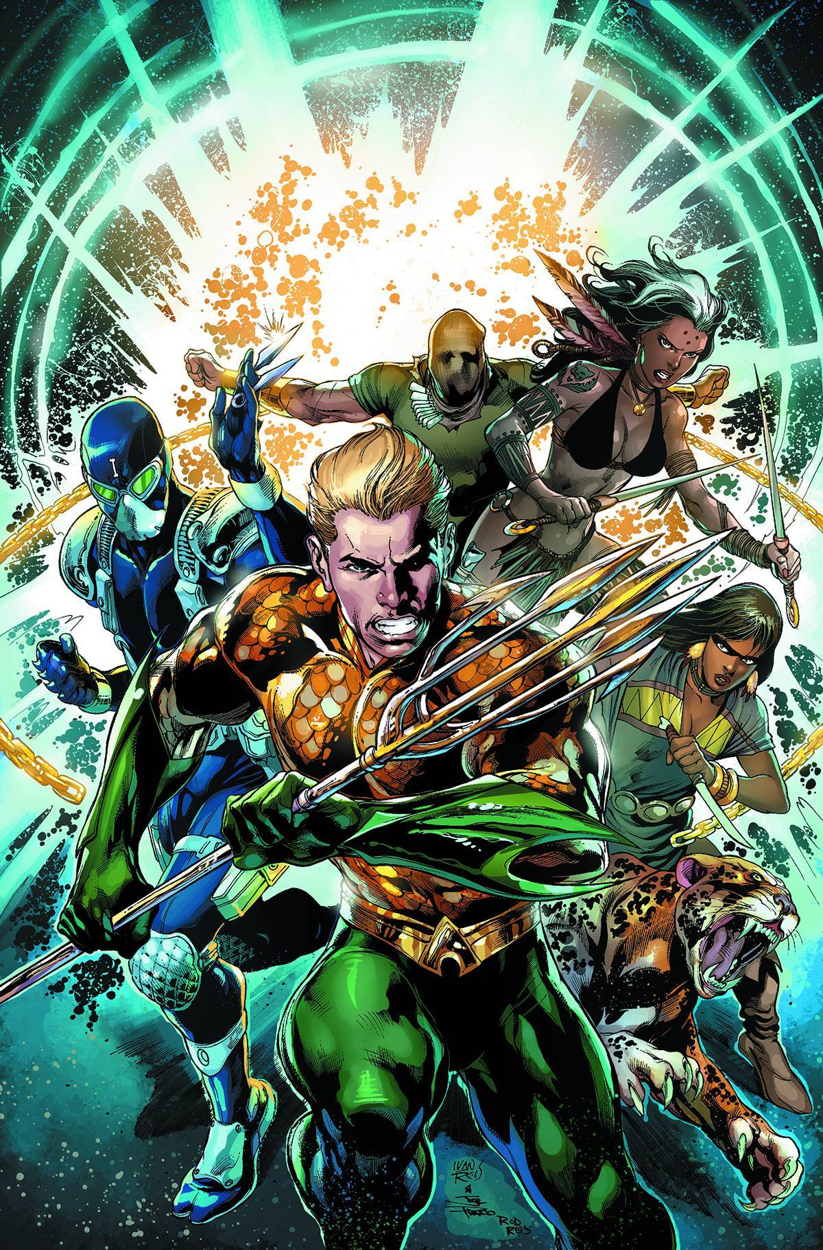 Aquaman and The Others Vol 01 Legacy of Gold (N52)