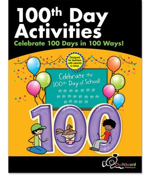 CTP 8199 100TH DAY CHALKBOARD WKBK
