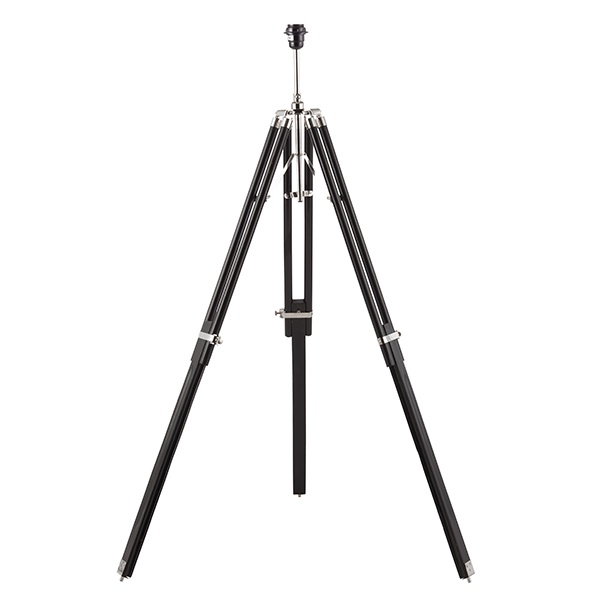 Tripod base only floor 60W SW - dark wood