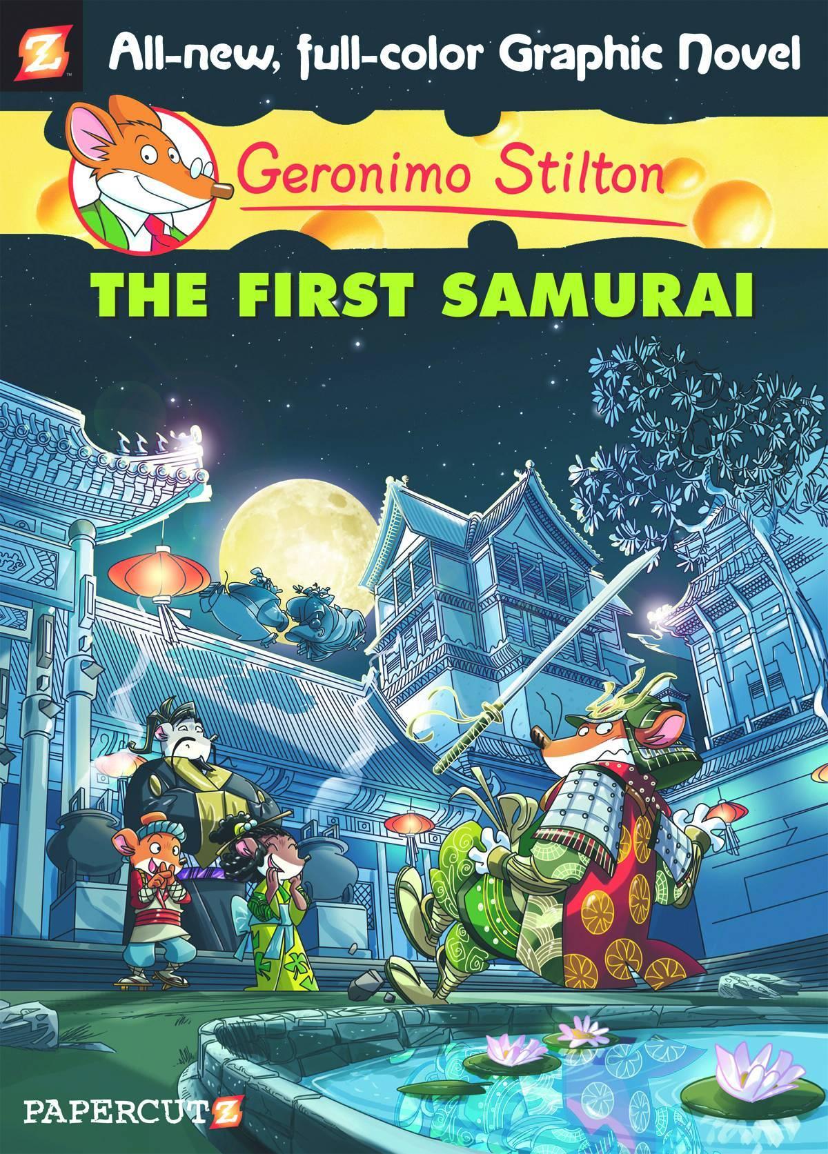 Geronimo Stilton HC Vol 12 First Samurai