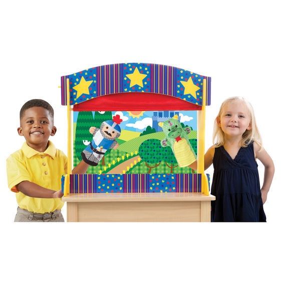 X MD 2536 TABLETOP PUPPET THEATER