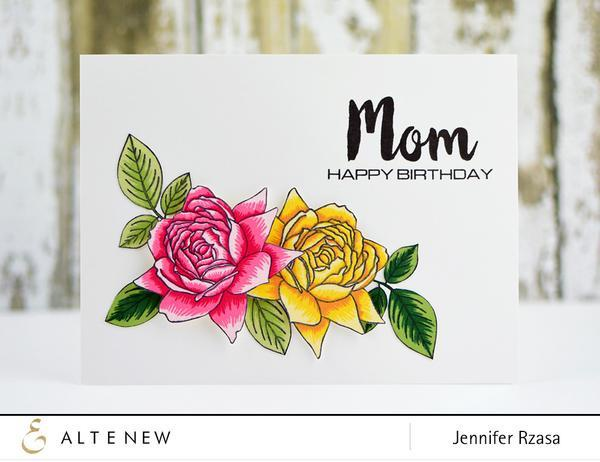 Altenew-Bold Blossom Stamp