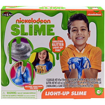 NICKELODEON LIGHT UP SLIME IN BOX