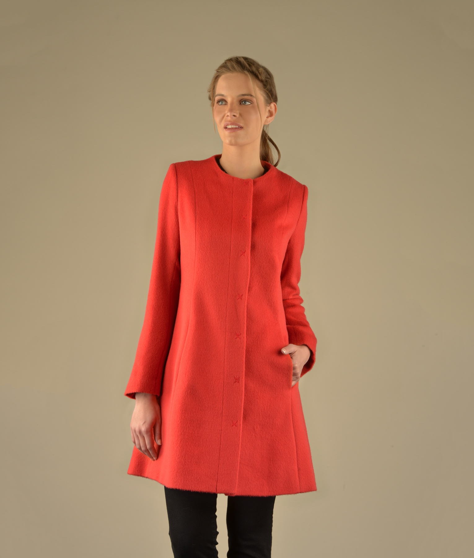 CLASSIC FITTED COAT RJ12955