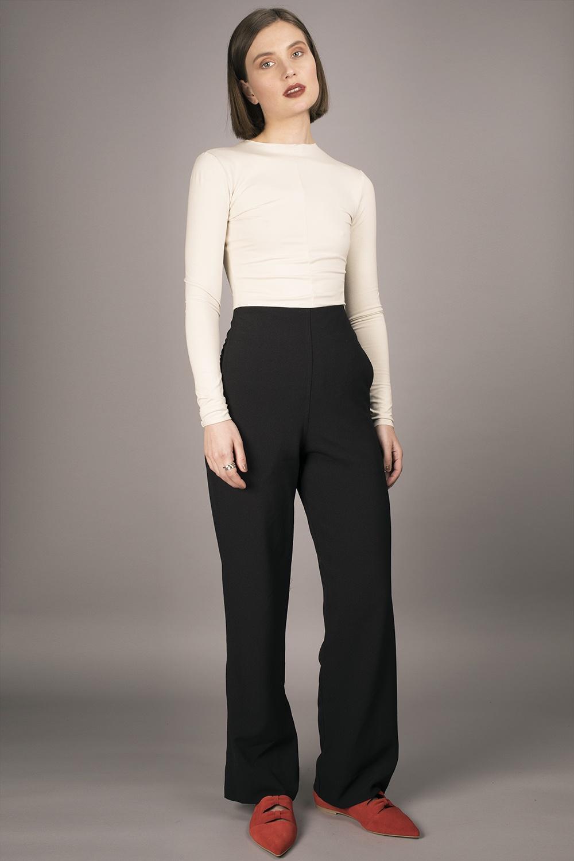 Cathrine Hammel - High Waist Pants Image