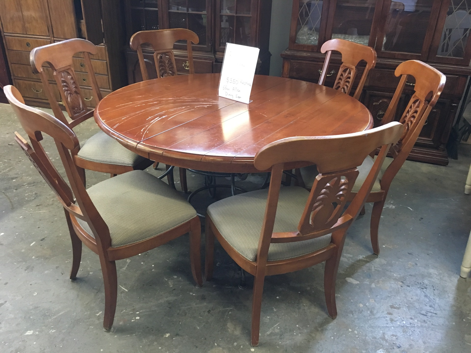 ethan allen dining set new arrivals second chance by the
