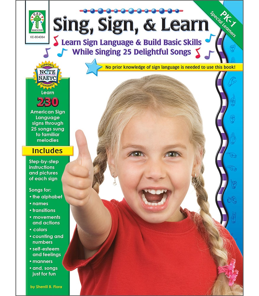 CD KE804084 SING SIGN AND LEARN