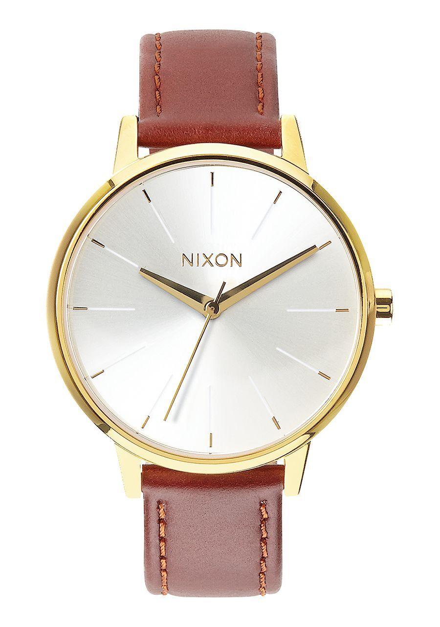 NIXON - KENSINGTON LEATHER GOLD/SADDLE A108 1425-00