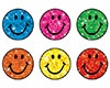 T 46505 COLORFUL SPARKLE SMILE STICKERS