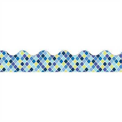 EU 845625 BLUE HARMONY DIAMOND DECO TRIM EXTRA WIDE