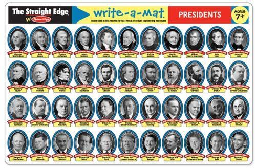 MD 5015 PRESIDENTS WRITE A MAT