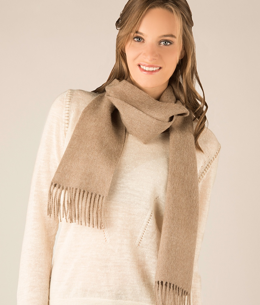 LONG BRUSHED SCARF 284