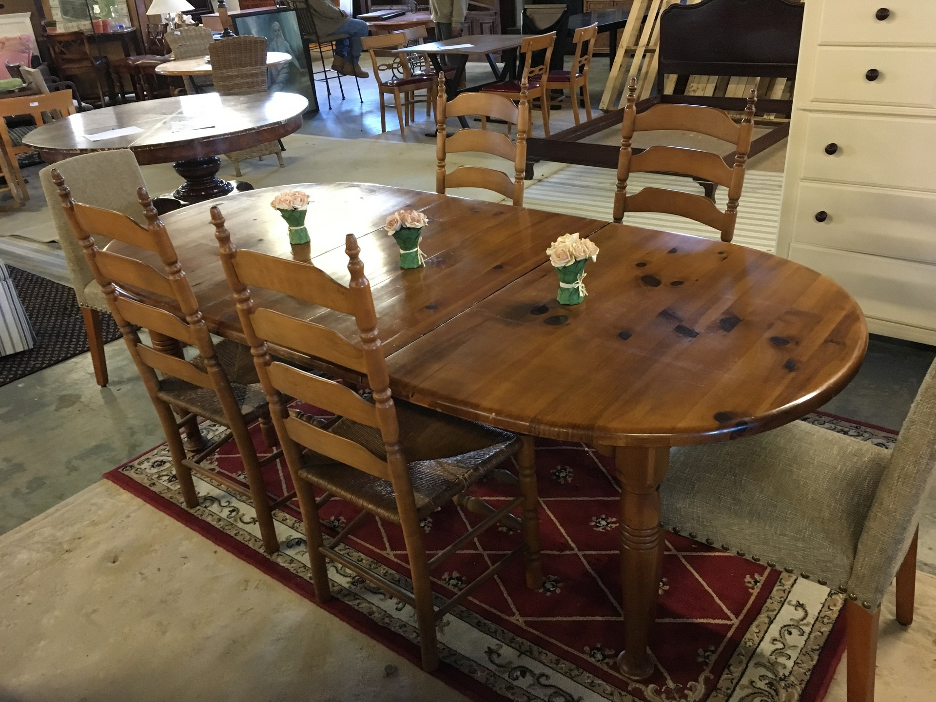 Pine Dining set New Arrivals