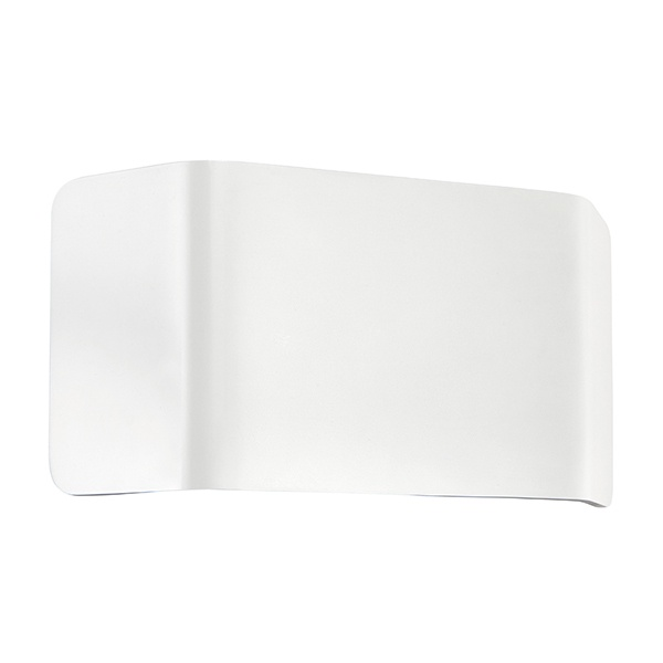 Verona 1lt wall 9W warm white - matt white