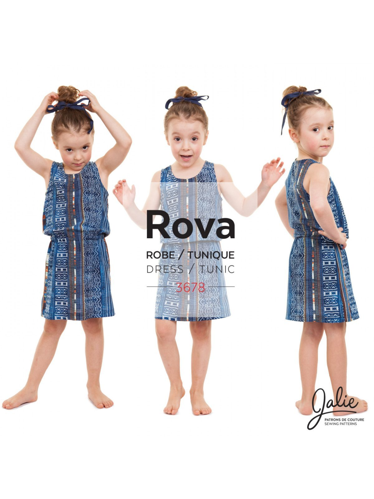 Rova Tunic and Dress - Fabrications