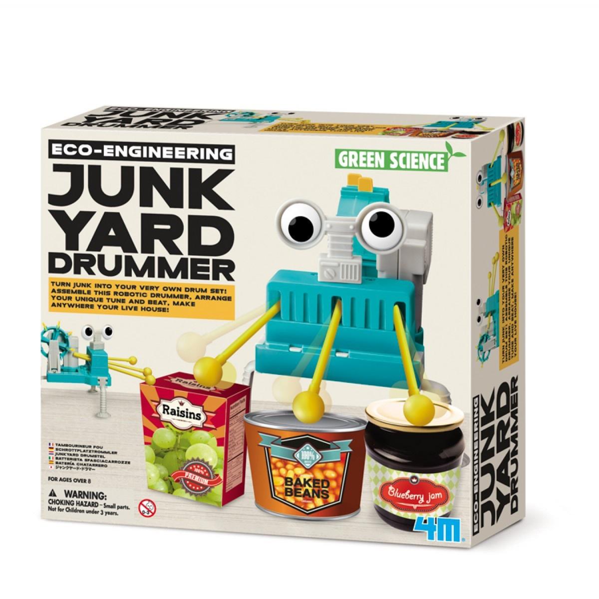 ECO-ENGINEERING JUNKYARD DRUMMER