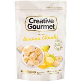 Creative Gourmet Frozen Banana Chunks 500g
