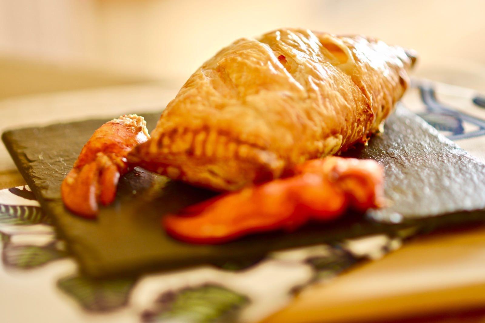 2018-01-27龍蝦威靈頓 Lobster Wellington
