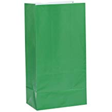 PAPER BAGS GREEN