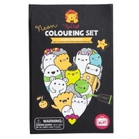 Neon Colouring Set - Glow Friends