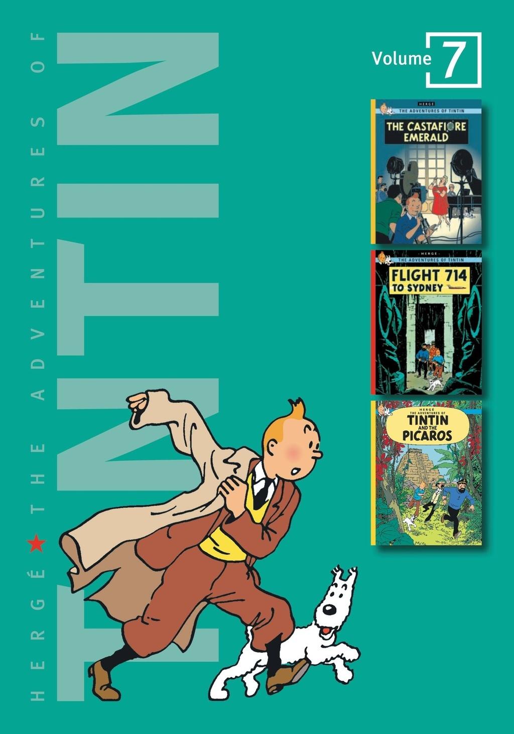 Adv of Tintin 3-In-1 Ed HC Vol 07