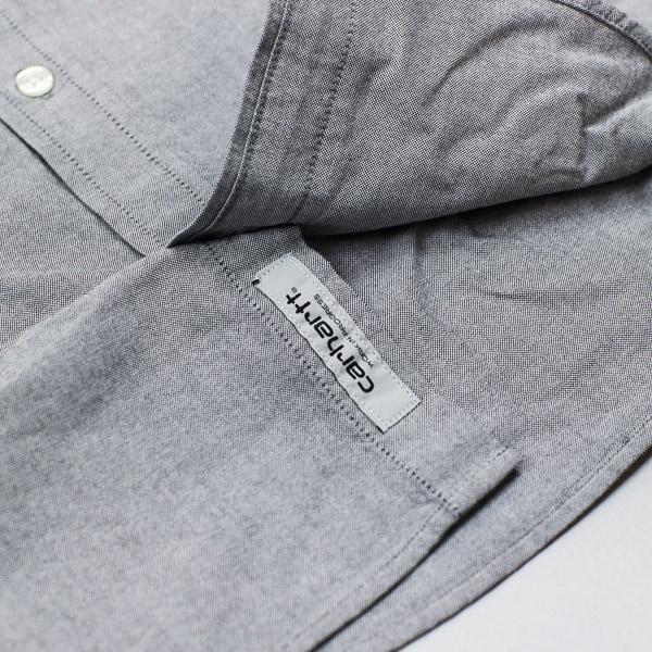 Carhartt W.I.P. Button Down L/S Shirt Black