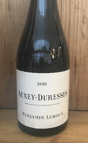 2011 Benjamin Leroux Auxey-Duresses Blanc 375ml