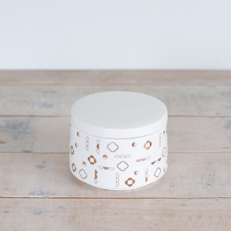 George & Co Sugar Bowl Ceramic