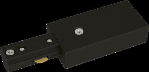 230v Single Circuit track Power Feed black