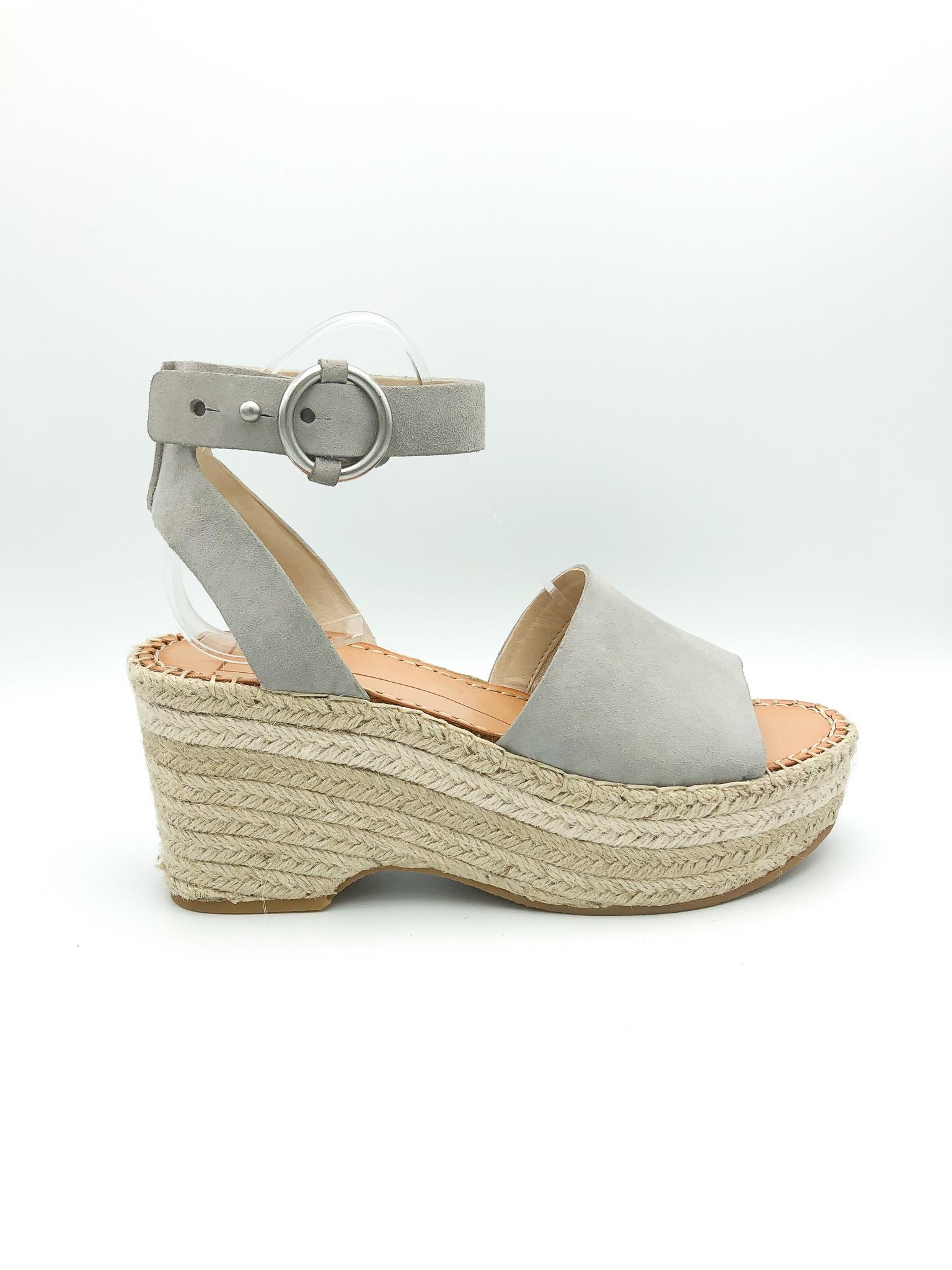 3ac5fed9f1 DOLCE VITA - LESLY WEDGE IN GREY - the Urban Shoe Myth