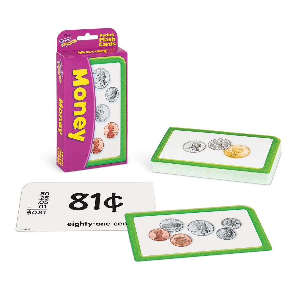 T 23020 MONEY POCKET FLASH CARDS