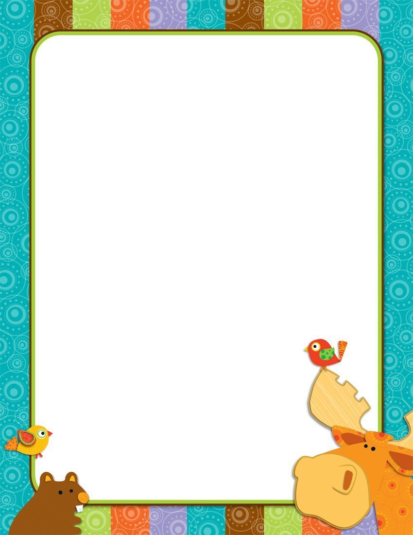 X CD 114185 MOOSE AND FRIENDS BLANK CHART