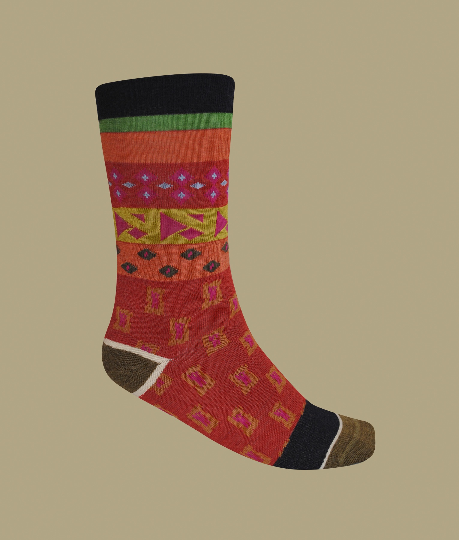 GEO MIXED LADIES SOCKS C002