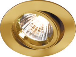 TILT BRASS TWIST-LOCK DOWNLIGHT GU10/MR16