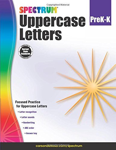 CD 704970 SPECTRUM UC LETTERS G PREK- K