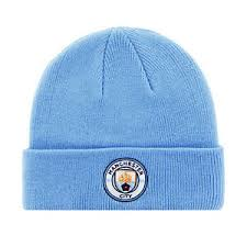 MANCHESTER CITY F.C. KNITTED HAT