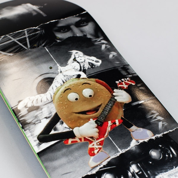 """Fucking Awesome AVE Burger Deck Black 8.25"""""""