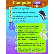X T 38121 COMPUTER RULES CHART