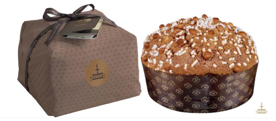 Hazelnut Panettone 榛子聖誕麵包