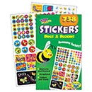 T 5013 BUGS AND BLOOMS STICKER PAD