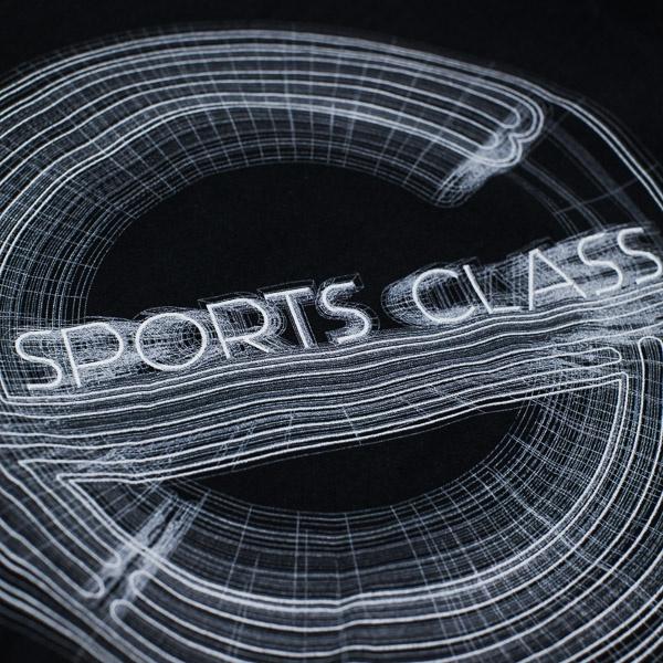 Sports Class 3D Mesh Pullover Hood Black