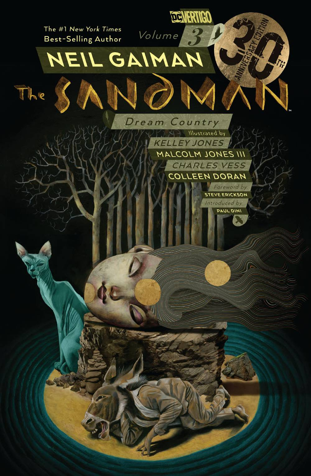 SANDMAN VOLUME 03 DREAM COUNTRY 30TH ANNIVERSARY EDITION